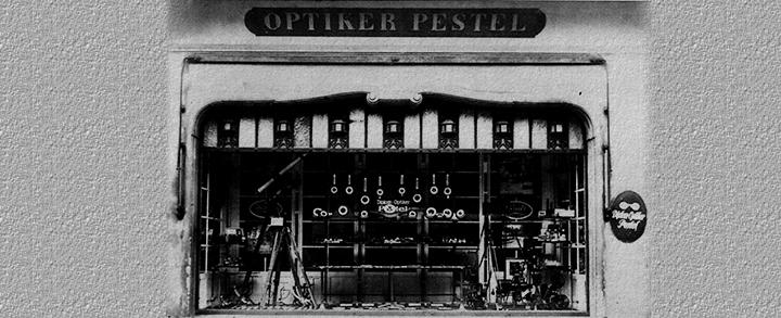 Pestel Optik gehört seit 180 Jahren zum Dresdner Stadtbild.