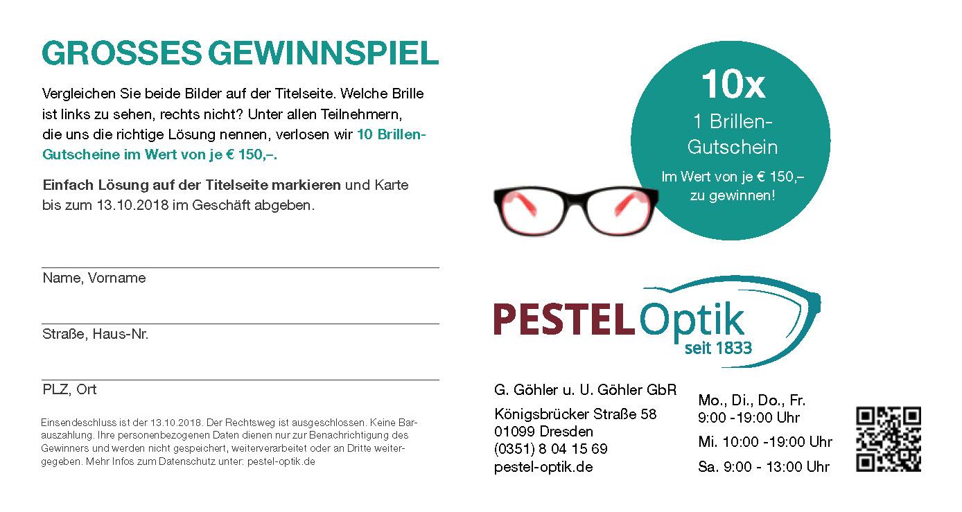 Pestel Optik 185 Jahre Handwerk Erfahrung Und Tradition Pestel Optikpestel Optik